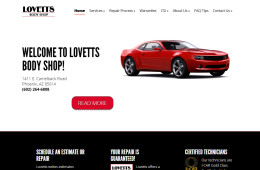 Lovetts Body Shop